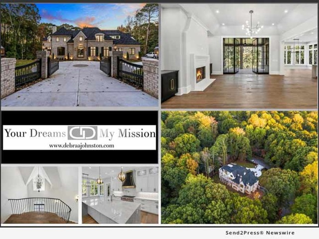 Debra Johnston Offers a Buckhead Atlanta New Construction Estate by Acclaimed Architects Harrison Design