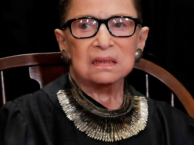 Justice Ruth Bader Ginsburg has no remaining cancer, Supreme Court announces