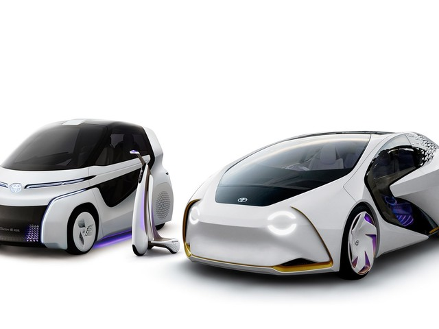 Toyota Debuts Concept-i Series of Electric 'Mobility Solutions'