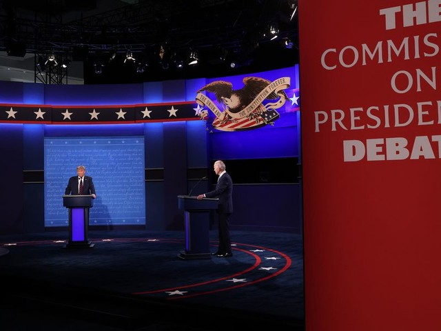 Commission changes rules for second debate to keep candidates from interrupting each other; Trump campaign responds immediately