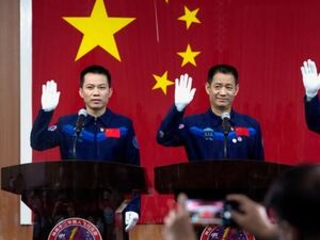 China set to send first crew to new space station Thursday