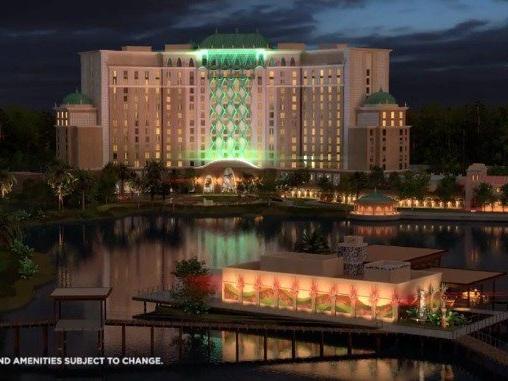 Disney Shares New Sneak Peek Flyover Video of Gran Destino Tower at Coronado Springs