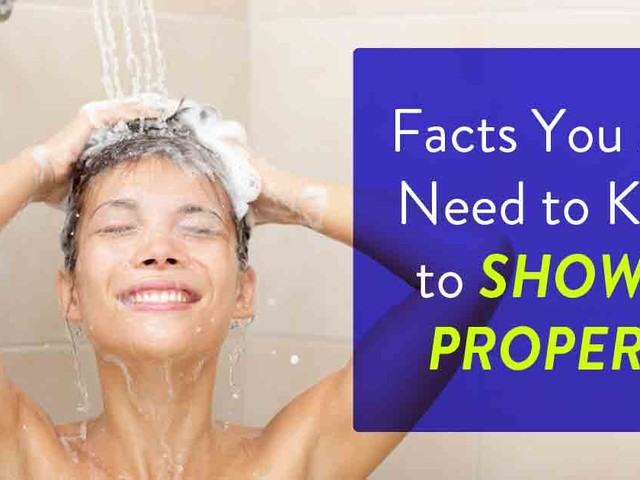 The Right Way to Shower, According to Experts