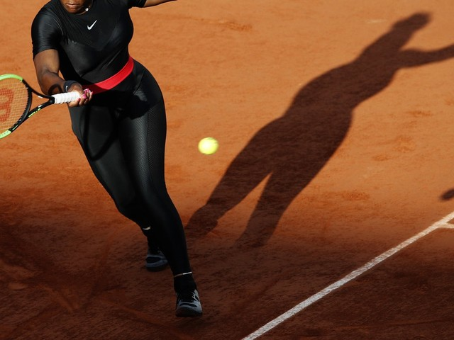 """Serena Williams Won't Be Allowed To Wear Her """"Black Panther"""" Catsuit At The French Open"""