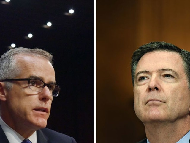 DOJ opens news investigation into James Comey, Andrew McCabe, Peter Strzok, former top DOJ official says