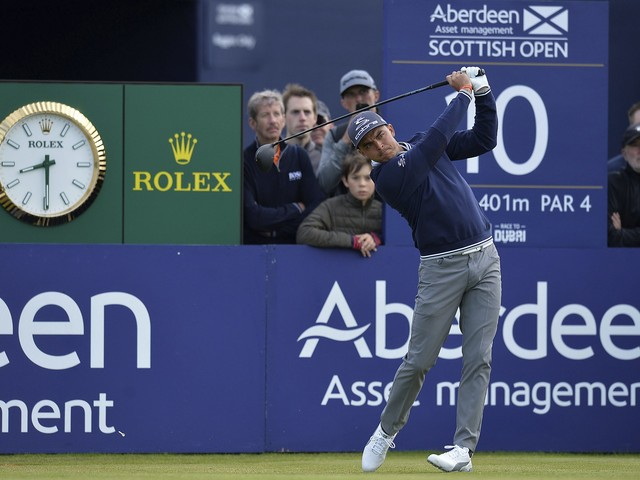 Fowler makes up for lost time at Scottish Open