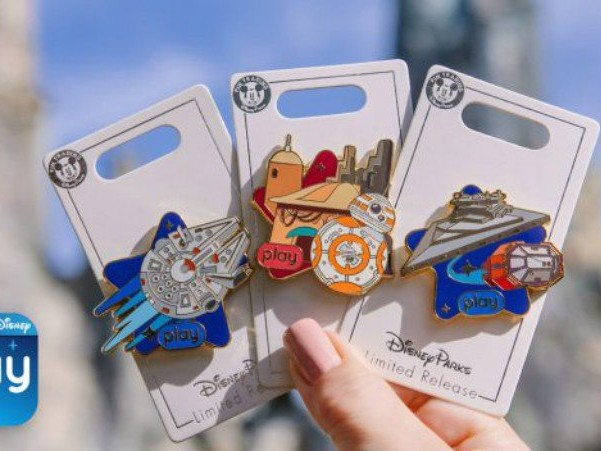 New Galaxy's Edge Pins for Play Disney Parks App Fans