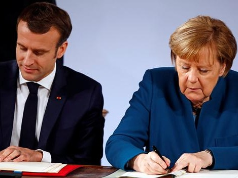 """France And Germany Take Major Step Toward EU Army To Protect """"Europe Threatened By Nationalism"""""""