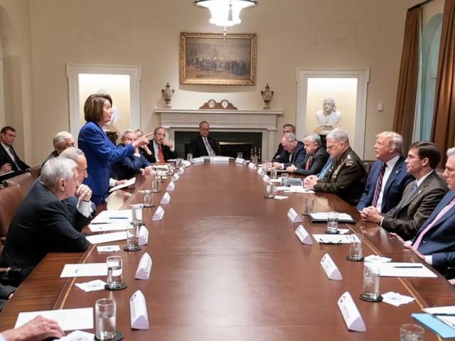 About that photo: Trump, Pelosi clash amid impeachment