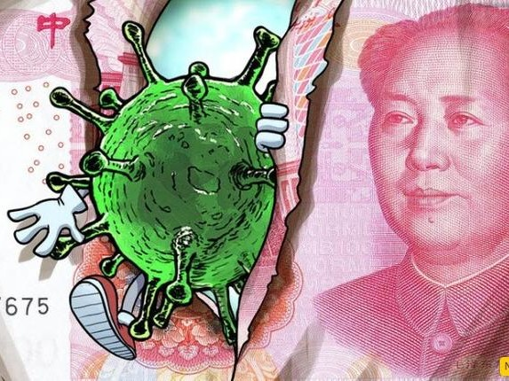Chinese Banks Are Quarantining Cash, Destroying 'Dirty' Money