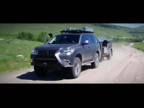 This Just In: The Lexus GXOR Concept Goes Hard in the Dirt
