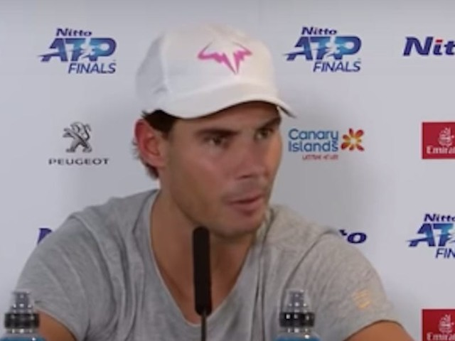 Rafael Nadal slammed a 'bull-s---' reporter who asked him if his marriage is making him play badly