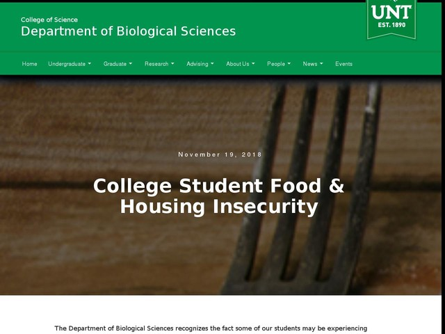 College Student Food & Housing Insecurity
