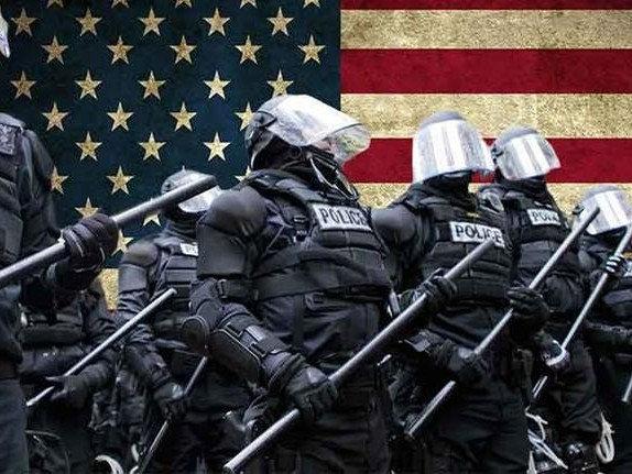 Martial Law Masquerading As Law And Order: The Police State's Language Of Force