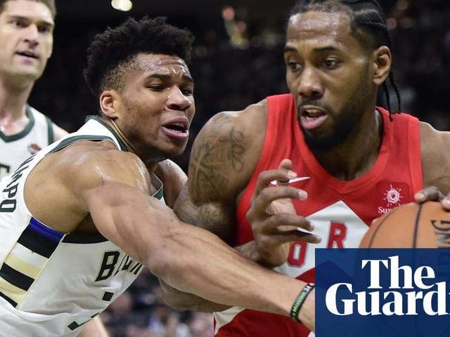 Raptors edge Bucks and move to brink of NBA finals behind Kawhi's 35