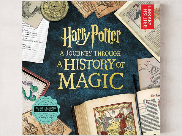 *HOT* $6.70 (Reg $20) Harry Potter: A Journey Through A History of Magic Book