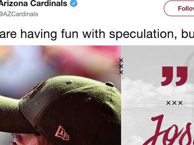 Cardinals tweet Josh Rosen support, Kyler Murray odds suggest otherwise