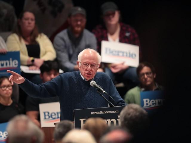 Bernie Sanders, 78, declares his age is an asset