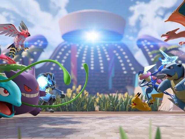 Pokémon Unite turns monster battles into a team sport