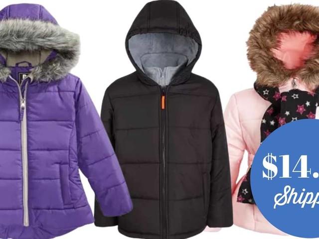 Macy's | Kids' Puffers for $14.99 Shipped!
