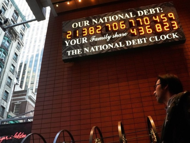 US national debt is now 110 percent of GDP — largest debt-to-GDP ratio since WWII