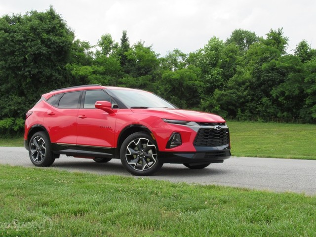 2019 Chevrolet Blazer Driven