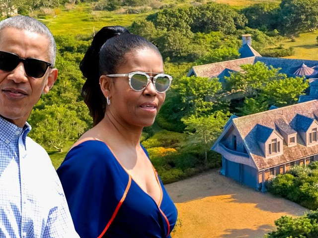 The Obamas reportedly just bought a $12 million house on Martha's Vineyard. Take a look inside the 7-bedroom waterfront mansion.