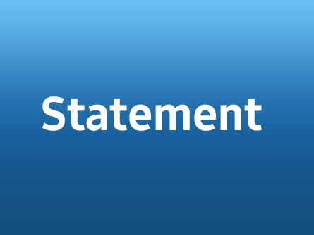 Statement on French NGO's allegations