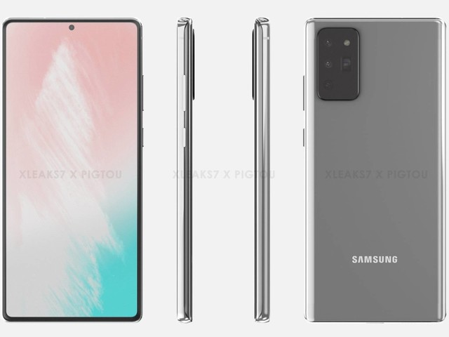 New Galaxy Note 20 leak shows how the design has changed