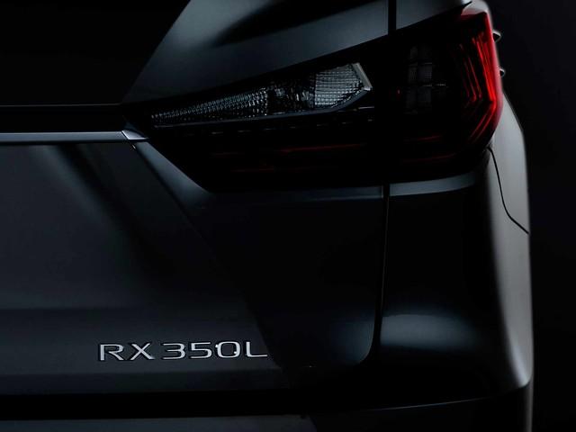 Three-Row Lexus RX 350L to Debut in L.A.
