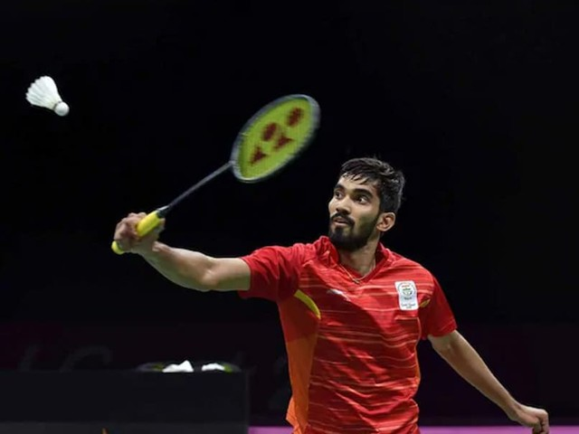 Hong Kong Open: Srikanth Gets 1st Round Walkover As Momota Pulls Out