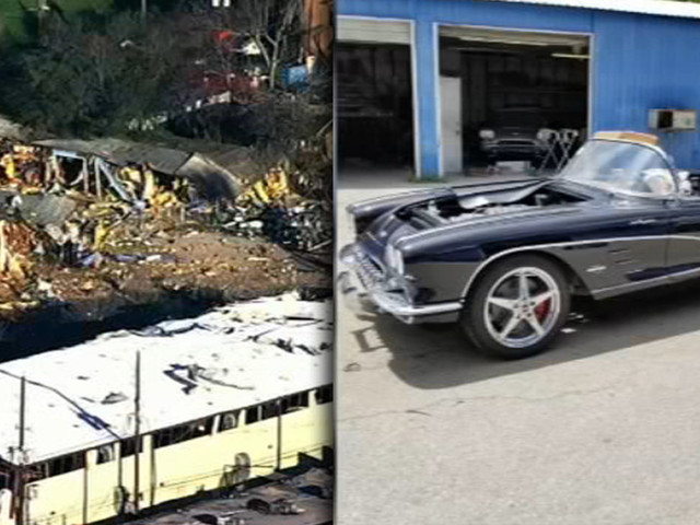 $1M worth of Corvettes trapped after Houston explosion flattens building