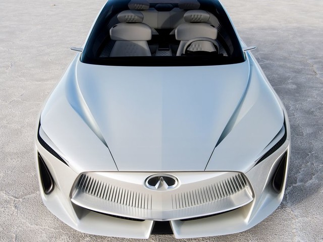 Infiniti's Q Inspiration is a gorgeous futuristic sedan that should be electric
