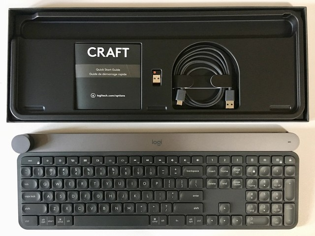Review: Logitech's CRAFT Wireless Keyboard is Pricey, but the Input Dial Is a Useful Addition