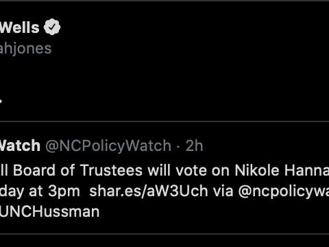 At long last, a tenure vote for Nikole Hannah-Jones