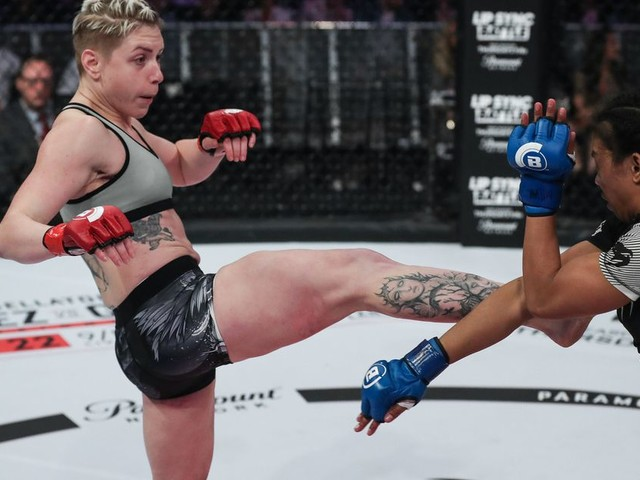 Bellator 234's Olga Rubin looking to bounce straight back after title fight loss