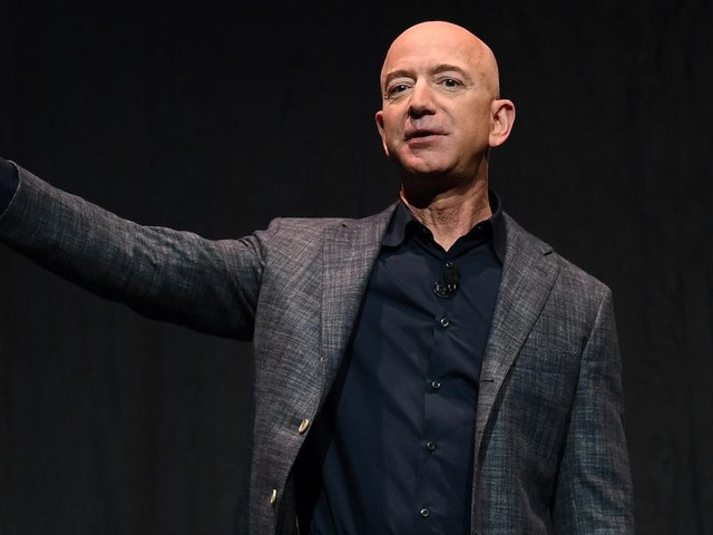 Jeff Bezos says he's giving $10 billion — about 7.7% of his net worth — to fight climate change