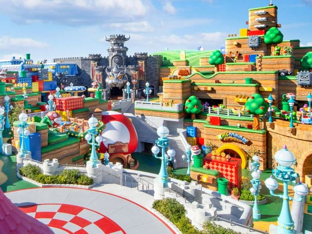Super Nintendo World is opening at Universal Studios Japan in February. Here's a sneak peek