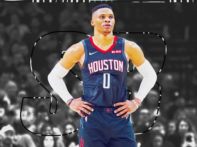 Russell Westbrook stopped shooting 3s and the Rockets couldn't be happier