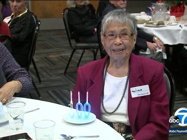 Southern California retiree who survived internment camp during World War II turns 100