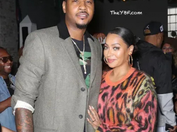 IT'S OVER OVER: La La Anthony Reportedly FILES For DIVORCE From Carmelo Anthony!