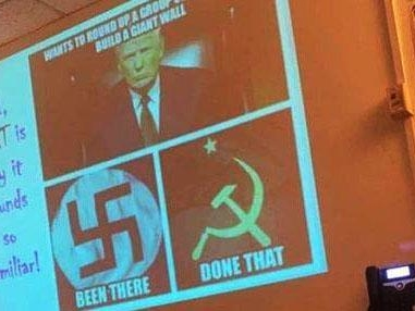 """""""A Piece Of Propaganda"""": Baltimore Republicans Outraged After High School History Lesson Compares Trump To Nazis, Communists"""