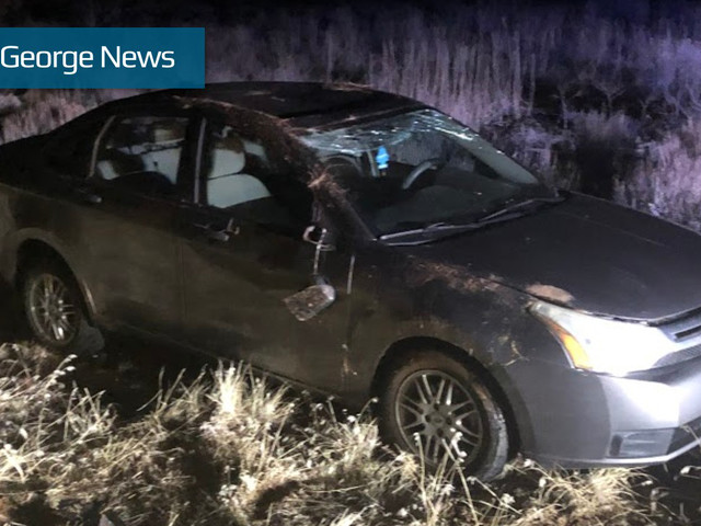 Driver swerves to avoid deer, rolls vehicle on SR-18