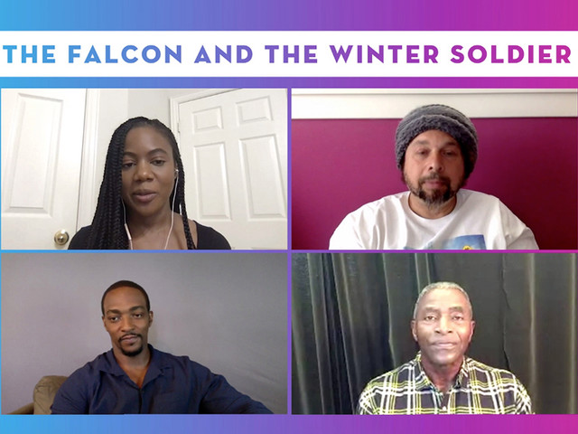"""'The Falcon And The Winter Soldier' Creator & Stars On Tackling Social Issues In """"Very Modern Superhero Show"""" – Contenders TV"""