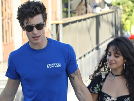 Camila Cabello & Shawn Mendes Hold Hands During Romantic Coffee Date In LA — Pic