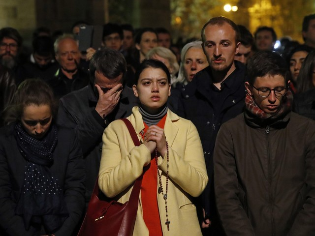 Shock, prayers around the world for Notre Dame Cathedral