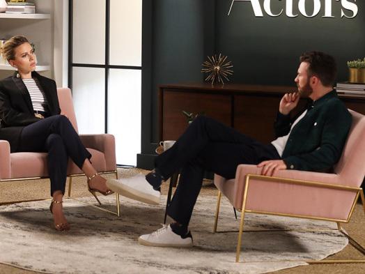 Scarlett Johansson, Chris Evans on the 'Sad' Marvel Scorsese Debate