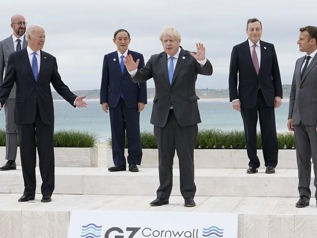 G-7 powers pledge 1 billion vaccine doses as summit kicks off in U.K.