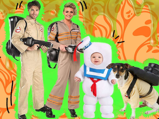 Group Halloween Costumes Your Dog Can Join In On