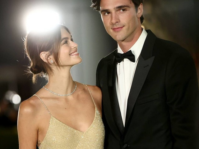 Kaia Gerber and Jacob Elordi Make an Ultra-Glam Red Carpet Debut as a Couple